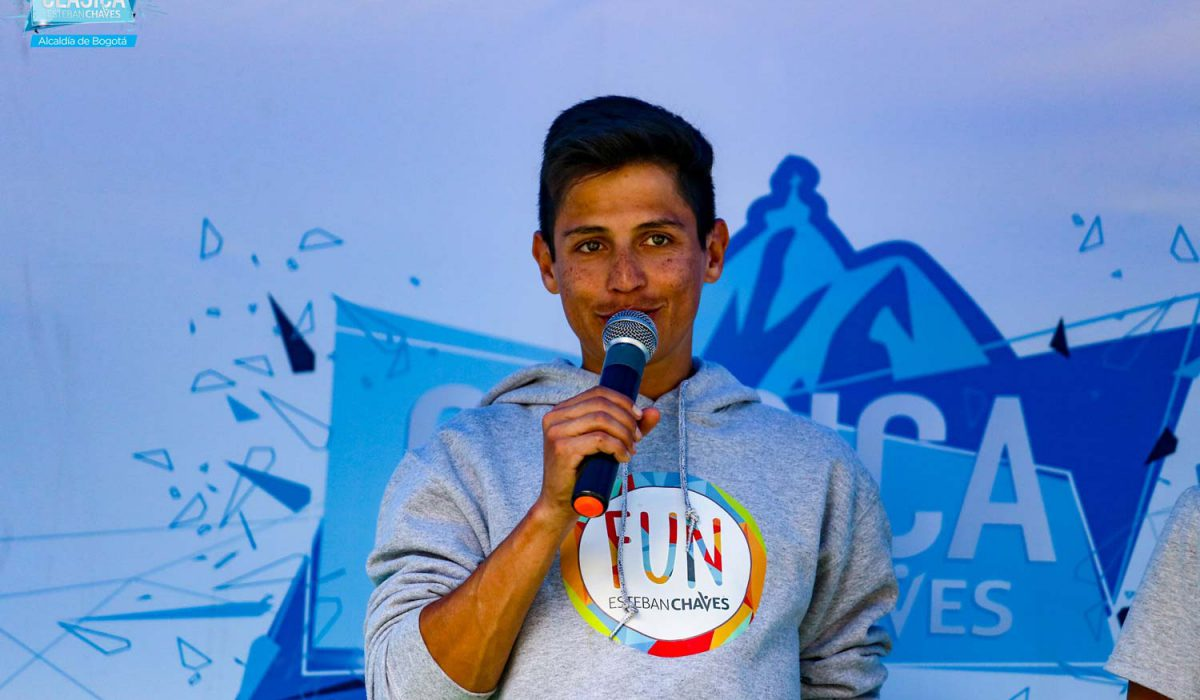 The reason why I am a professional cyclist – Esteban Chaves
