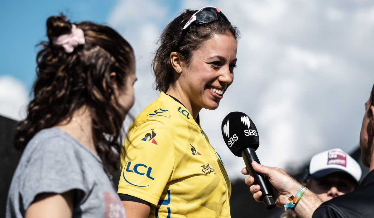 Nadine Gill, from L'Étape Australia to the World Tour