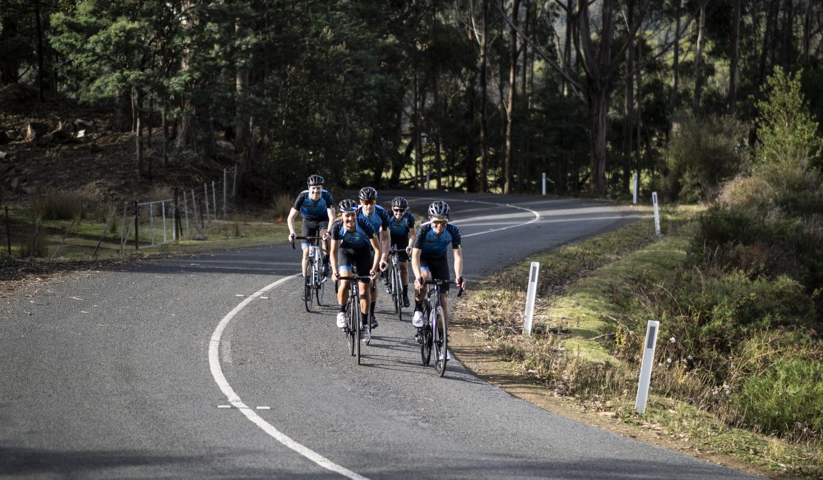 Lateral Events and Cyclist ride together