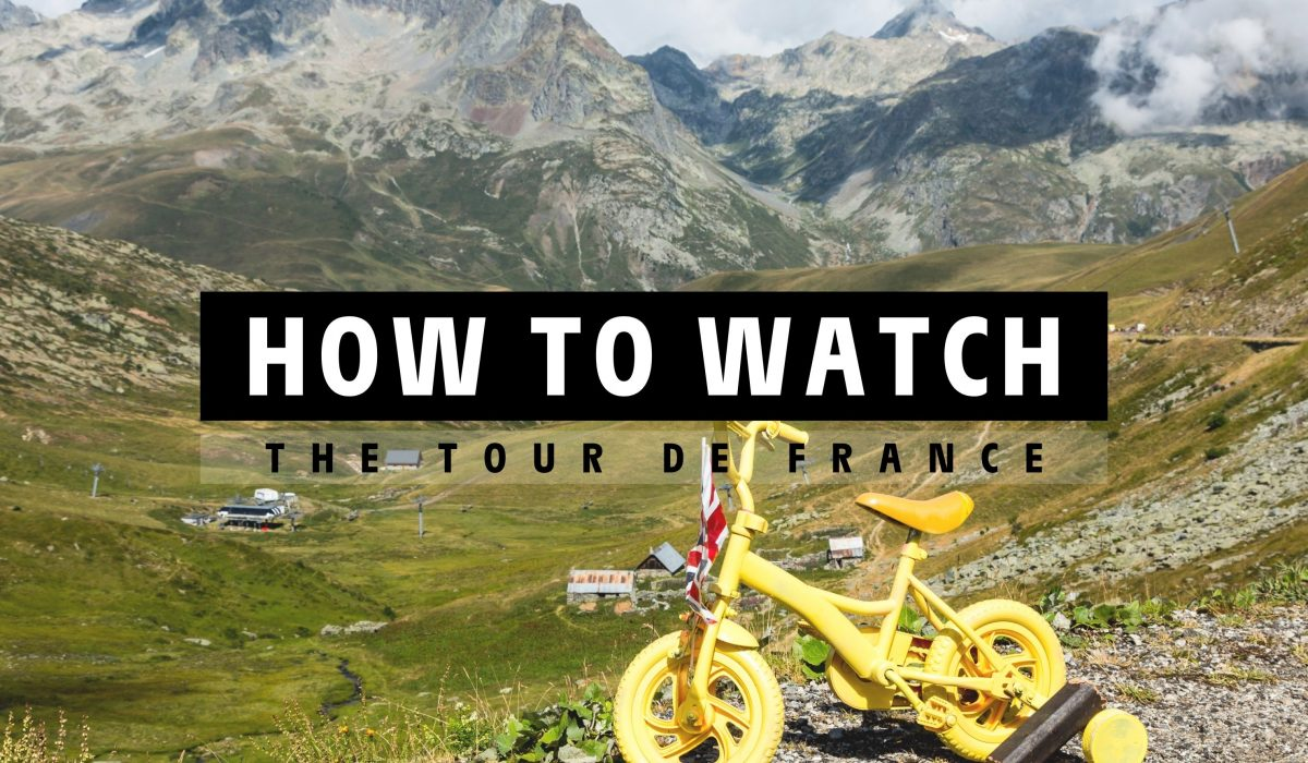 How to watch the 2021 Tour de France